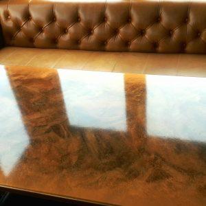 epoxy resin table tops