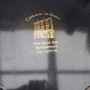 the bank bar leitrim custom metallic epoxy table